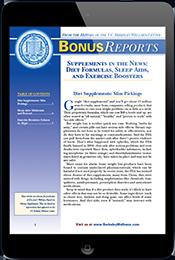 Dietary Sups Bonus Report